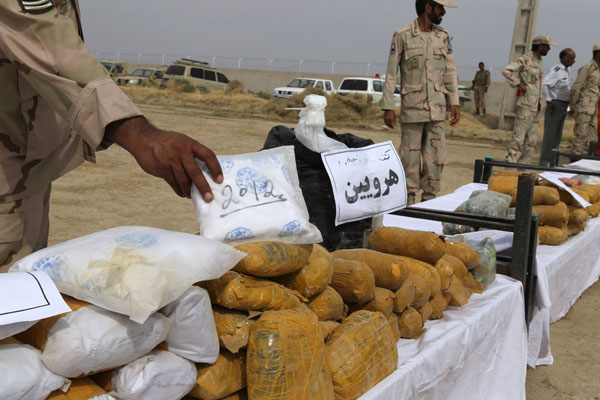 TOPSHOTS-IRAN-BORDER-TRAFFICKING-DRUGS