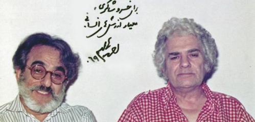 احمد شاملو و خسرو شاکری