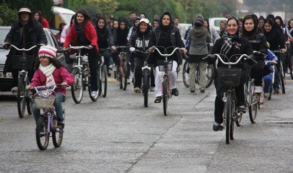 Image result for دوچرخه سواران مریوان