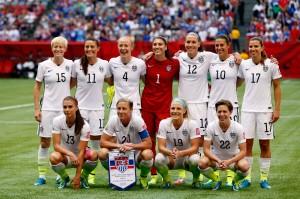 تیم ملی زنان فوتبال امریکا – عکس از ان.بی.سی