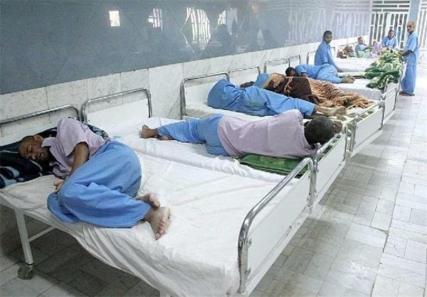 با کمبود تخت بیمارستانی در کشور مواجه هستیم